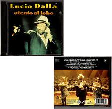 LUCIO DALLA - ATENTO AL LOBO - CD Stampa MEXICO Brani in SPAGNOLO