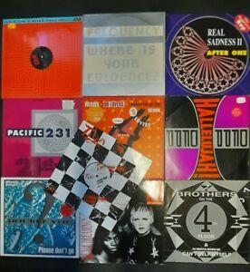 """30x 12"""" Vinyl Techno, Euro House, Hip Hop, 80er und 90er"""