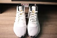 Adidas Men's Pro Bounce 2019 Basketball Shoes White/Gold EE3896 Size US 10.5 New