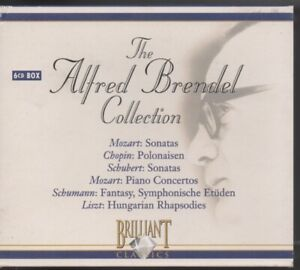 The Alfred Brendel Collection Brilliant Classics 6 CDs  as new