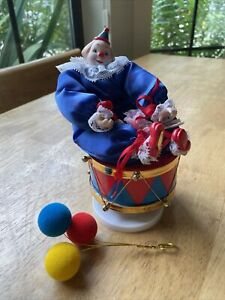 Dynasty Doll Collection Clown Music Box