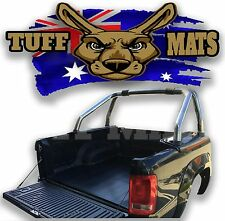 Tuff Mats Ribbed Rubber Ute Tray Mat VW Volkswagen Amarok With Tub Liner