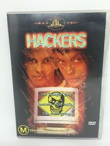 HACKERS DVD Region 4 Movie Very Good Condition FREE SHIPPING