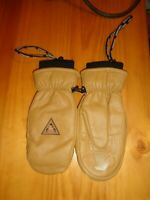 GRENADE  CAMEL GOAT LEATHER OL'CHAP  WINTER SNOW SKI MITTEN GLOVES NEW M