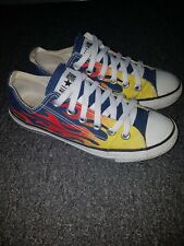 Converse All Star Rare Vintage Hot Rod Flame Trainers unisex 71d05ef445