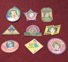 Replacement Self Adhesive Stickers for 1930s Shirley Temple Doll Trunk
