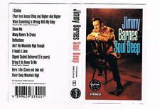 JIMMY BARNES - SOUL DEEP  *RARE CASSETTE TAPE*