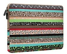 AMNIE Bohemian Style Canvas Fabric 11-11.6 Inch Laptop Notebook Sleeve Case Bag