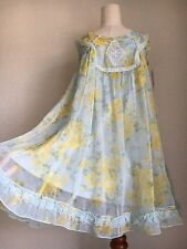 341.BNWT!axes femme fairly-tail blue-green yellow bouquet princess lacy dress