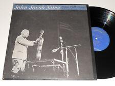JOHN JACOB NILES Sings Folk Songs NM FOLKWAYS FA 2373 w/booklet album vinyl