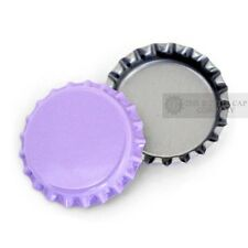 50 Purple Bottle Caps New Cap Unused Bottlecaps Colored Blank linerless craft