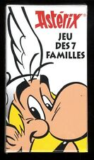 ASTERIX    JEU DES 7 FAMILLES    Ed. Albert René     UDERZO / GOSCINNY