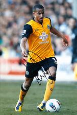 Blackburn Rovers F.C Martin Olsson Hand Signed 11/12 Photo 12x8 1.