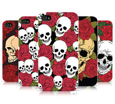 SKULLS & ROSES DESIGN PATTERNS MOBILE PHONE CASE COVER FOR APPLE iPHONE 4 4S
