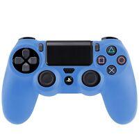 Joystickhülle Joystickschutz Silikonschutz für Sony PS4 Game Controller blau
