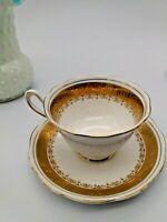 "VINTAGE ROYAL ALBERT  CUP & SAUCER  ""Regency"" Pattern"