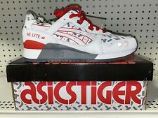 Asics Gel-Lyte III G.I. Joe Storm Shadow Mens Athletic Shoes Size 8 White Red
