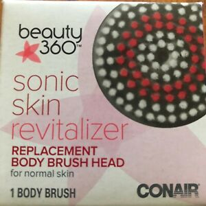 Beauty 360 Sonic Skin Revitalizer Replacement Face Brush Head