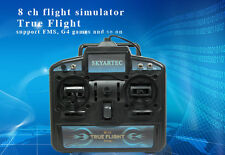 SkyArtec X-power 8CH R/C USB FLIGHT SIMULATOR FS-02 Model2(Left Throttle)