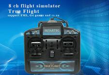SkyArtec X-power 8CH R/C USB FLIGHT SIMULATOR FS-02 Model2(Left Throttle)