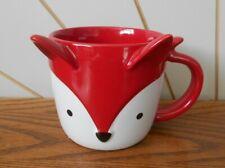 RED FOX beautiful novelty coffee mug STARBUCKS COFFEE COMPANY Christmas 2019
