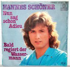 """7"""" Vinyl-Hannes Schröder-ora dimmelo adieu"""