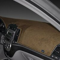 For Fiat 124 Spider 17-20 Dash Designs Dash-Topper Poly-Carpet Mocha Dash Cover