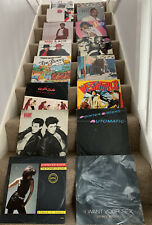 "Job lot 16 x 1980's  12"" vinyl singles"