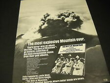 Mountain 1973 Promo Poster Ad from The Best Of. Most Explosive Mountain Ever