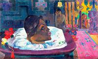 The Royal End by Paul Gauguin 75cm x 45.7cm High Quality Art Print