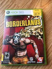 Borderlands (Microsoft Xbox 360, 2009) Cib Game H3