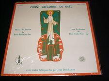 CHANT GREGORIEN DE NOEL<>SAINT-BENOIT-DU-LAC<>SEALED Lp Vinyl° Can Pressing~