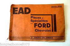 Ford et chevrolet 1935 pièces détachées et spécialités -