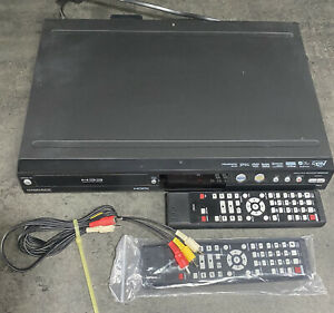 Magnavox MDR513H/F7 DVD and HDD Recorder HDMI SDTV Tuner + Remote TESTED Works