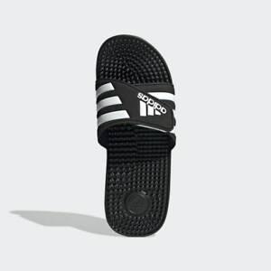 Adidas Men's Adissage Slides Sandals Flip Flops Black Adjustable F35580 US 8