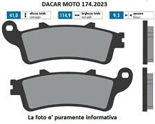 174.2023 PASTIGLIE FRENO SINTERED POLINI HONDA : FORESIGHT 250 99
