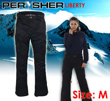 Womens Ski / Snowboard Pants PERYSHER LIBERTY *Ladies Stylish Black* Size M