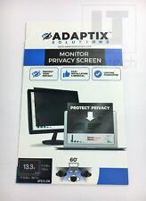 "Adaptix Monitor Privacy Screen 13.3"" Privacy Screen Anti-Glare, Anti-Scratch NEW"
