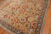 Old Hand Made Traditional Nain Parsian Zieglar Oriental Wool Area Revo Rug