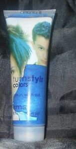 KMS Turnstylr Style In & Wash Out TEMPORARY Hair Color ~ MARIC BLUE ~ 1.7 oz.!!
