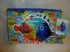 Disney Pixar Finding Dory Pencil Case With Zipper Ocean Buddies Ages 3+ New