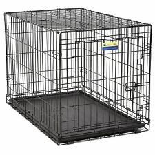 "Metal Folding Pet Dog Crate / Cage 36"""