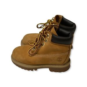 Timberland Classic 12809 Premium Toddler Boots Size 7W Shoes
