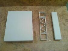 Kunststoff Balkonbrett Balkonlatte Weidezaun 170x35x2,2 mm weiss, 1 lfm
