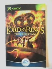 53357 Instruction Booklet - The Lord Of The Rings The Third Age - Microsoft Xbox