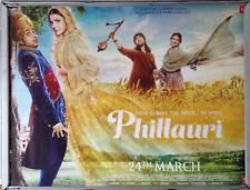 Cinema Poster: PHILLAURI 2017 (Quad) Anushka Sharma Diljit Dosanjh