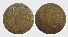 FERRARA - BENEDETTO XIV 1740-1758 -AE/ 1/2 BAIOCCO