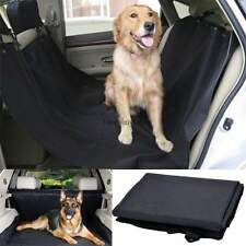 Suv Truck Car Back Seat Cover For Dogs Cats Travel Durable & Waterproof Black US