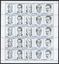 Sheet Mexican Stamps
