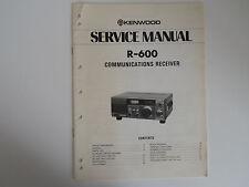 KENWOOD (TRIO) R-600 (SERVICE MANUAL ONLY).................RADIO_TRADER_IRELAND.